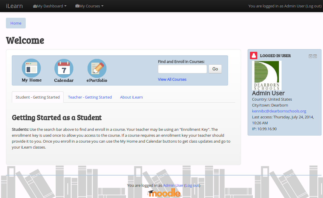 MichiganMoodle Theme