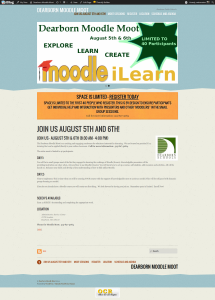 Dearborn Moodle Moot